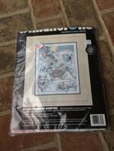 "Dimensions Cross Stitch Kit ~ ""North American Beauties"" ~  1994 Kit - $9.99"