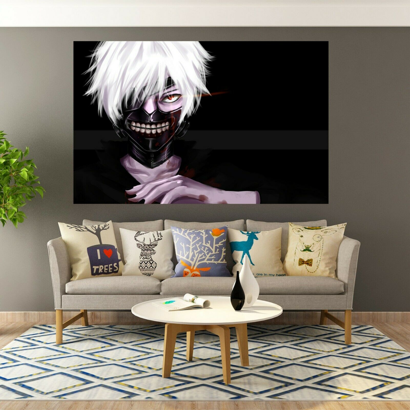 3D Tokyo Ghoul Avatar D159 Japan Anime Wall Stickers Wall Mural Decals Wendy - $19.22 - $149.94