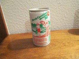 North Carolina NC Turning 7up vintage pop soda metal can tar heel fairwa... - $10.99