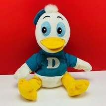 Walt disney store bean bag plush beanbag stuffed animal Donald Duck nephew Dewey - $16.35