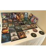 Family DVD Lot of 34 DVDs Teens Kids Pirates of the Caribbean Avatar Matrix - $34.99