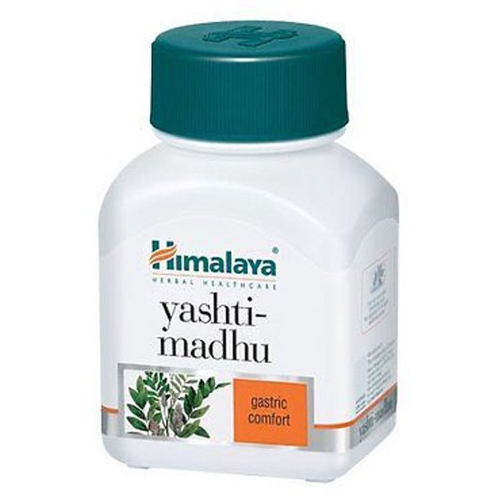 Primary image for 5 x Himalaya Yashtimadhu Tablets (60tab) For Heartburn, Acidity (GERD)