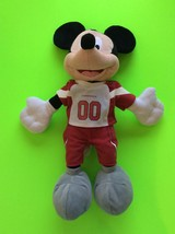 Arizona Cardinals Mickey Mouse Disney Plush Stuffed Animal Jersey - $15.98