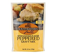 Southeastern Mills Old Fashioned Peppered Gravy Mix w/ Sausage Flavor, 4... - $19.99