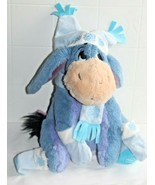"Disney Store Exclusive Plush Nordic Pooh's Eeyore Winter Christmas Holiday 12""  - $14.80"