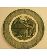 The Old Curiosity Shop Underglaze Plate - $8.45