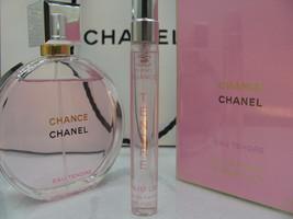 Authentic! Chanel Chance Eau Tendre Parfum 10ML Travel Spray Sample - $23.00