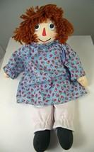 """Raggedy Ann Doll 85th Anniversary 2000 Copper Hair I Love You Heart 17"""" ... - $15.71"""