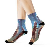 SPACE SOCKS (SS) - Crew Socks - Cosmic dust and gas make up part of the ... - $8.00