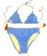 Swim Systems Cornflower Blue Halter Bikini Swimsuit Size M Medium NWT$100 - $71.25