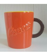 Reese's Hidden Collection By Fitz And Floyd 3D Yellow/ Orange/ Brown Mug... - $34.65