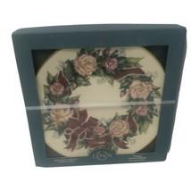 Lenox Sentiments Of Roses Peace Plate 1996 New In Original Box - $29.00