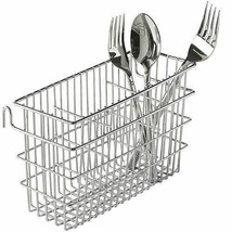 Spoons Rack Drainer Steak Knife Fork Drainer Compartment Silverware Stee... - $27.75