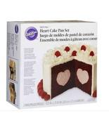 "Wilton W157 Tasty-Fill Cake Pan Set-Heart 8.5""X2.75"" - $20.75"