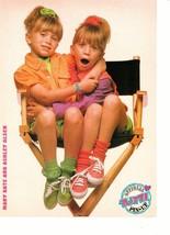 Mary Kate & Ashley Olsen Mark Paul Gosselaar teen magazine pinup clipping chair
