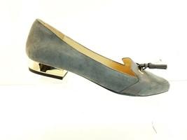 Isaac Mizrahi Grey  Suede Tassel Loafer Flats Paulina NEW - $40.30