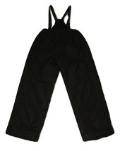 Big Chill Snow Bib Pants Size Large 14-16 Black Kids Ski Technical Outer... - $14.84