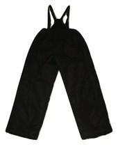 Big Chill Snow Bib Pants Size Large 14-16 Black Kids Ski Technical Outer... - $14.84