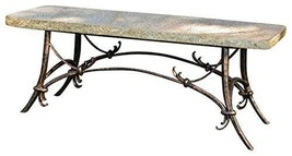 Stone Age Creations BE-TU-GLD Tuscany Granite Bench Gold - $1,553.99