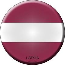 Latvia Country Novelty Metal Circular Sign - $21.95