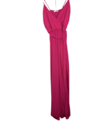 Fashion Nova Jumpsuit Pink Women's Small V-Neck Made in USA - $29.99