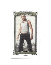 2013 Upper Deck Goodwin Champions Anderson Silva Canvas Mini Card #125  - $39.60