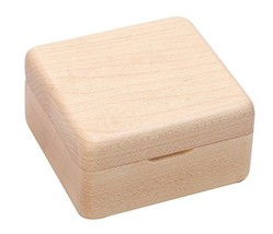 Wooden Classic Music Box, Concise Fashion Mechanism Musical Box Gift for Friends - $31.64