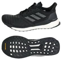 Adidas Men's Solar Boost Running Shoes Athletic Training Black/Gray CQ3171 - £121.23 GBP