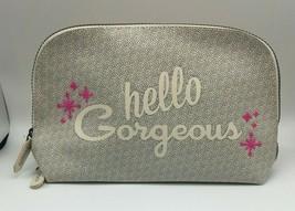 Benefit Cosmetics Hello Gorgeous Vinyl Logo Cosmetic Bag - $4.99