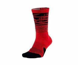 NIKE Unisex Elite Pulse Crew Basketball Socks 8-12 (M) Large SX7009-658 - $15.99