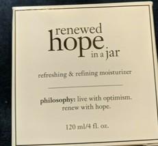 Philosophy Renewed Hope In A Jar Refreshing & Refining Moisturizer 4oz  - $45.52