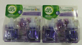 Air Wick Scented Oil Refill Lot Lavender Chamomile 4 40ml Bottles 2 Pack... - $9.99