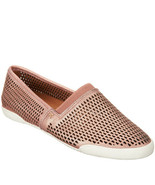 Frye Perforated Leather Slip-ons - Melanie Rose Gold 8.5 M - $98.99