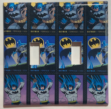 Batman Comics USPS Stamps Light Switch Power Outlet Wall Cover Plate Home decor image 7
