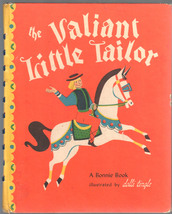 The Valiant Little Tailor A Bonnie Book Illustrated by Dolli Tingle 1946 HC - $9.99