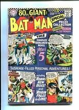 BATMAN 185 GIANT-1966-ROBIN THE WONDER BOY VG - $44.14