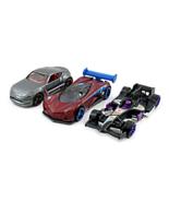 SET*3 DIECAST CAR MODELS, MAZDA/NISSAN/FORMULA 1 RACER, HOTWHEELS 1:64, NEW - $33.99
