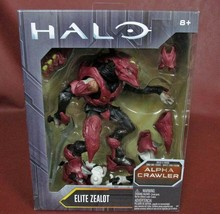 HALO Build A Figure ALPHA CRAWLER ELITE ZEALOT New Never Removed From Bo... - $15.12