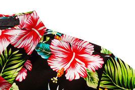 Men's Tropical Aloha Beach Party Hawaiian Luau Button Up Casual Dress Shirt XL image 3