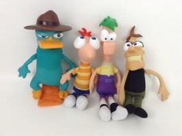 "Phineas & Ferb Lot Disney Store Perry Doofenshmirtz Plush with Sounds 8""... - $44.50"