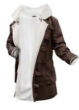 Bane Coat Dark Knight Rises Synthetic Leather Fur Buffing Brown Trench Jacket image 1