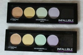 L'Oreal Infallible Total Cover Pro Color Correcting Palette  #225 0.17 oz - $10.44