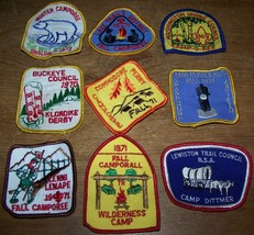 lot 9 1969-71 NY DISTRICT BOY SCOUTS PATCH CAMPOREE ONSLOW BUCKEYE BUFFA... - $15.83