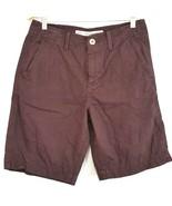 American Eagle Mens 30 Purple Flat Front Shorts Dress Casual 4 Pockets - $22.99