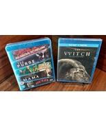 5 Horror Movies (Blu-ray,REGION FREE) + Witch (Blu-ray+Digital) NEW-Free... - $27.91
