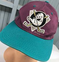 VTG Anaheim Mighty Ducks Disney Snapback Baseball Cap Hat - $17.43