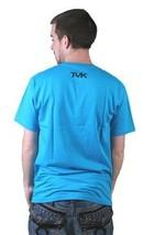Tavik Hombre Turquesa Don'T Stop Won'T Stop Lake Agua Persistencia Camiseta Nwt image 2