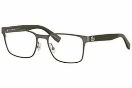 NEW LACOSTE L 2249 033 Matte Dark Ruthenium Eyeglasses 53mm with Case - $89.05