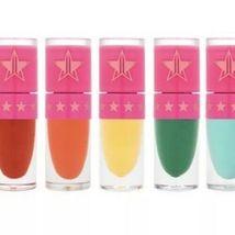 Jeffree Star Cosmetics Velour Liquid Lip *QUEEN BEE* Bright Matte Yellow image 3