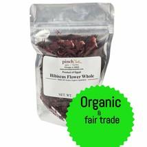 Organic Hibiscus Tea Flowers (Whole) - $10.79